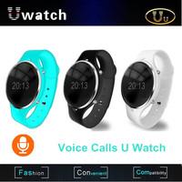 Newest Uu Smart Watch Bluetooth Wristwatch Voice Call Waterproof Andriod Watch ForiPhone Samsung HTC Sony