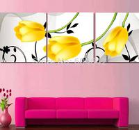 "Wall Home Decoration Cross Stitch Precision  Printing"" Yellow tulips "" Cross-Stitch Kit , DIY Cross Stitch Sets,"
