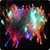 20pcs/lot 100 LED 10M LED String Light led Christmas/Wedding/Party Decoration Lights AC 110V 220V US plug free shipping