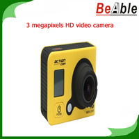 Sport Camera 3 Megapixels HD Video Camera G-sensor Waterproof functionality Portable DVR