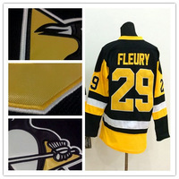 2015 New Men pittsburgh penguins 29 Marc-Andre Fleury Ice Hockey Jerseys cheap,Embroidery logos
