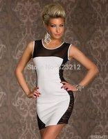 Unique design o-neck slim women dress sexy club party dresses vestidos femininos