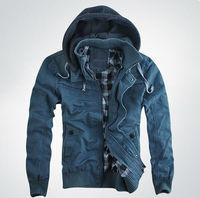 Hot sale!!  men's DSQ hooded Casual jacket  men's coat D2  brand outwear  male 3 colours!!