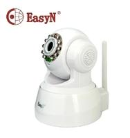 Genuine EasyN  F-M136 WIFI White Color IR-Cut 2 way Audio Webcam Wireless IP Camera Free Shipping