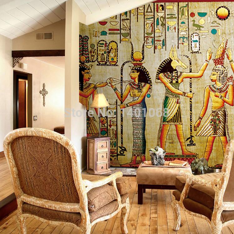 Hochwertige Moderne Tapeten : Egyptian Wall Murals