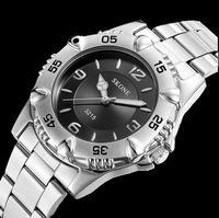 Relogio Masculino Men Wristwatch Men Full Steel Watch Quartz Fashion Casual Watch Men SKONE BRAND watch Men's Dress watch 3215