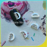 100pcs of New Arrive Letter D 3D Nail Salon Jewelry Accessories  Professional nail art supplier wholesale