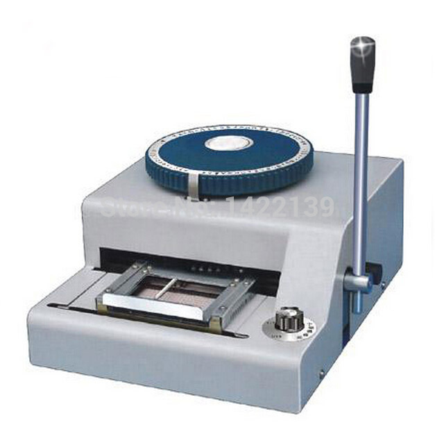 credit card embossing machine suppliers