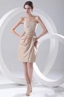 2014 New Arrival Fall Winter Fashion Elegant A-Line Mini Prom Dresses Appliques Boat Neck Off the Shoulder Dresses ZY1138