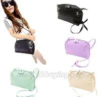 Womens Hobo Shoulder Bag Faux Leather Lady Satchel Cross Body Tote Handbag (13109003)