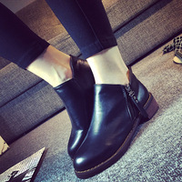Fashion martin boots boots single boots thick heel boots cotton thermal short with the women's shoes