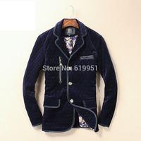 Outdoors Brand Winter Jacket Men Sports casual Jacket  Padded  Parkas European slim coat cotton 2 colors