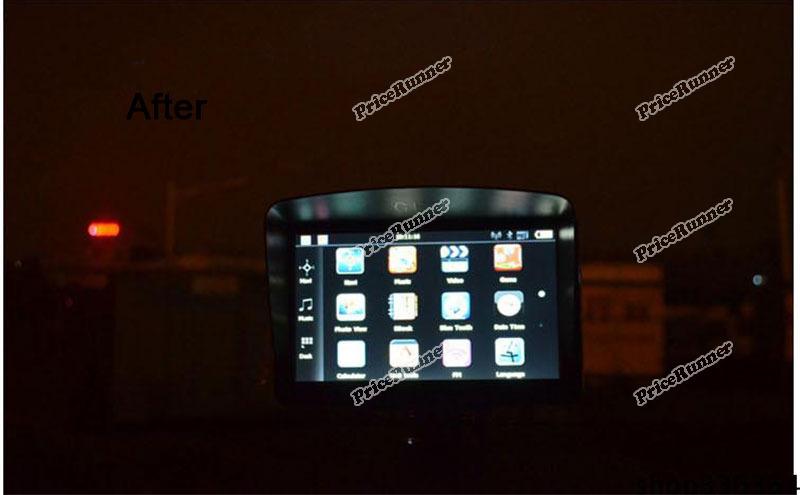 PriceRunner Original barnd Universal 7 inch Car GPS Navigation Sun Shade Screen Anti Reflective Housing Super deals(China (Mainland))