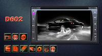 "Universal 2 Din 6.2"" In Dash Car DVD Player GPS/ Radio/FM/USB/SD/Bluetooth/ HD digital touch screen full popular function free"