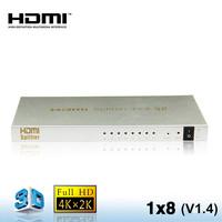 1.4 1x8 HDMI Splitter