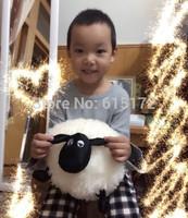 1 piece 29cm Happy New Year 2015 For Girl Boy Nici Birthday Gift Kawaii Cute White Shaun the Sheep Plush Soft Toy