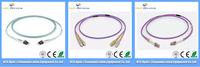 LC-LC duplex multimode fiber optic patch cord 1.5M
