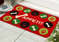 Free shipping pet dog Dog Gone Smart Dirty Dog Doormat abosorb Water absorption anti slip wipe dirty