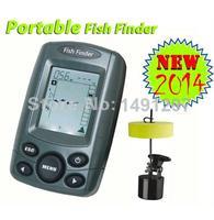 2014 NEW 100M Portable Sonar Sensor Fish Finder Fishfinder LCD Transducer Free Shipping