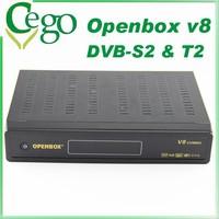 DVB T2 DECODER DIGITALE SATELLITARE DUAL TWIN TV TUNER DVB S2 T2 OPENBOX V8 COMBO HD 1080P satellite receiver box support IPTV
