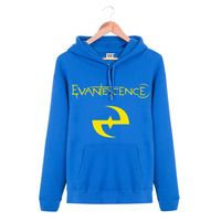 Evanescence Rock and Roll Band HOODY The latest version Spring and Winter Hoodie Thick coat Sports and Leisure sweater