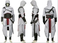 Halloween gift Altair Ezio Edward Kenway Cosplay Costume Assassin's Creed Custom made any size