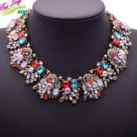 2014 New Arrival Fashion Shourouk Red Big Brand ZA Alloy Gem Hotsale Wholesale Collar Necklace Choker Jewelry 9705