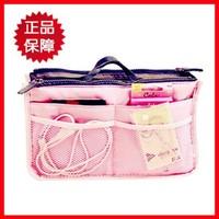 HOT Sale ! 9 Colors Make up organizer bag Women Men Casual travel bag multi functional Cosmetic Bag storage bag in bag Handbag