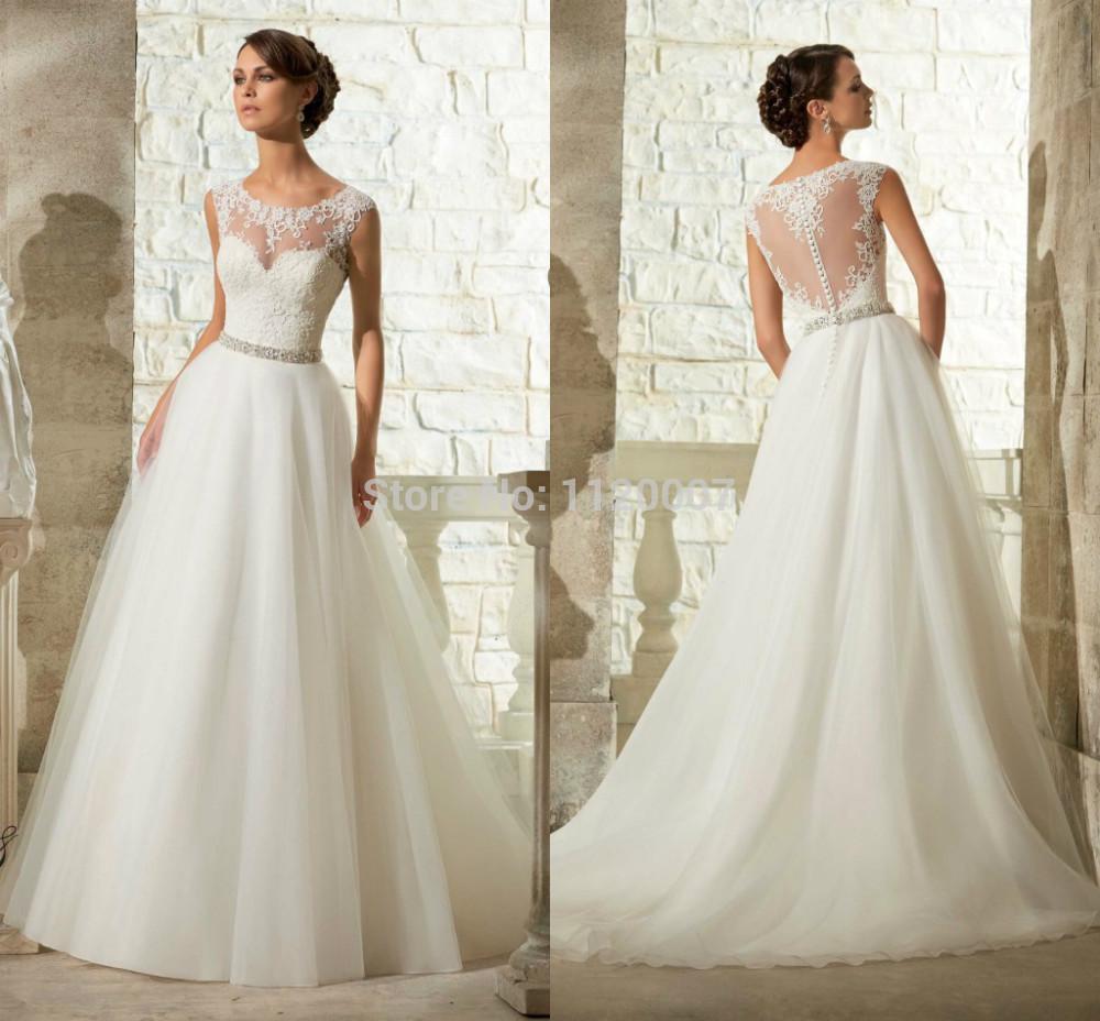 vintage robe de mariage lace wedding dress 2015 vestido de. Black Bedroom Furniture Sets. Home Design Ideas