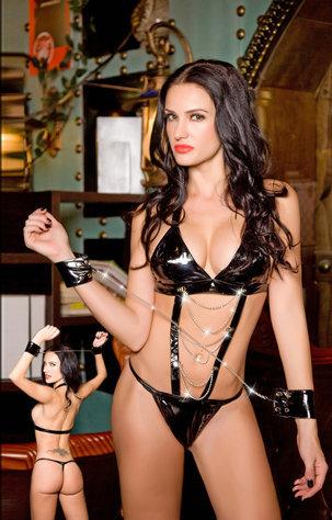 The European Style Women's Sexy Open-bra Fantasy Black Policewomen Lingeries Seductive Underwear For Female(China (Mainland))