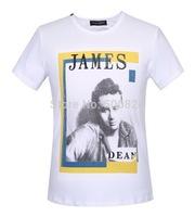 Men's T-shirt cotton - Hot Summer Dolc Men's Round Neck Collar Sport T-Shirt Tee Shirt  D2 james dean tshirt