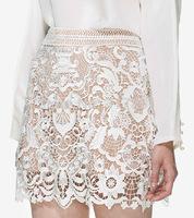 2015 new arrive self*portrait lace skirt