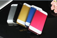 1pcs New 3500mAh Aluminum External Battery Backup Cases for iPhone 5S Power Bank Charging Case Cover for Apple iPhone 5 5s