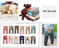 Free shipping NEW Arrival Children Kids PP Pants Long Trousers Cartoon Legging Cotton Baby Boys Girls Wear HOT Sale