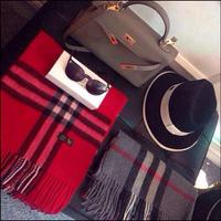 Designer Women Brand scarf Cashmere Plaid Wool Scarf Pashmina Fashion winter scarves