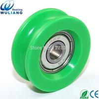 Factory Sale Cheap 626zz pom plastic shower room door roller 6x31.5x11.7mm U groove door roller