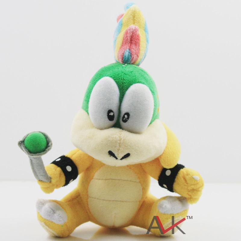 EMS 140PCS Super Mario Bros Koopa Plush Toys Dolls Wendy / LARRY / IGGY /Ludwig /Roy / Morton /Lemmy O.Koopa Free Shipping(China (Mainland))