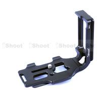 Detachable Metal L-shaped Vertical Shoot Quick Release Plate/Camera Holder Bracket Grip Special for Tripod Ball Head Nikon D810
