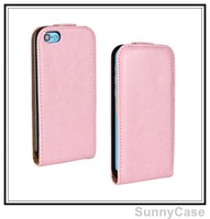 Crazy Horse Leather Flip Cover Case for iPhone 5C