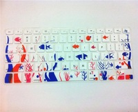 "USA TPU Soft Silicone Keyboard Protector Sea Maps Skin Cover Film For Apple Macbook Pro Air Retina 13"" 15"" 17''"