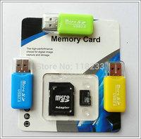 Wholesales-2GB 4GB 8GB class4 Memory card 16GB 32GB 64GB 128GB class10 micro sd card +retail package adapter - free shipping