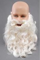 Free Shipping  Santa Claus Father Christmas Beard & Moustache Tash Wizard