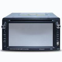 6.2 inch Universal Car Dvd Player gps navigation automotivo 2din dash Bluetooth car stereo radio TouchScreen FM Receiver USBPort