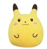 Free shipping Man track Pokemon Pokemon Pikachu plush toy cushion Spot   Christmas Gifts