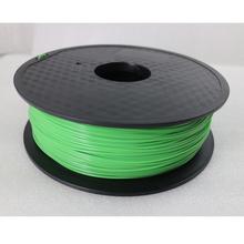 Shallow Green Color 3D Printer Filaments PLA 1.75mm 1kg Plastic Rubber Consumables Material