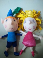 Ben and Holly's Little Kingdom toy doll action figures plush toy Christmas Gift  9.8inch