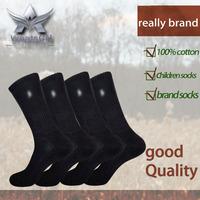 High quality 100% cotton Business warm Embroidery HJC Polo long brand socks Men's sports winter socks christmas US Size (7.5~10)