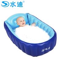 Water thickening baby bathtub baby bathtub child bath basin inflatable bathtub Large
