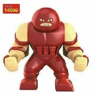 Decool 0191 Building Blocks Super Heroes The Avengers  Action figures Minifigures  Toys Juggernaut  Figures