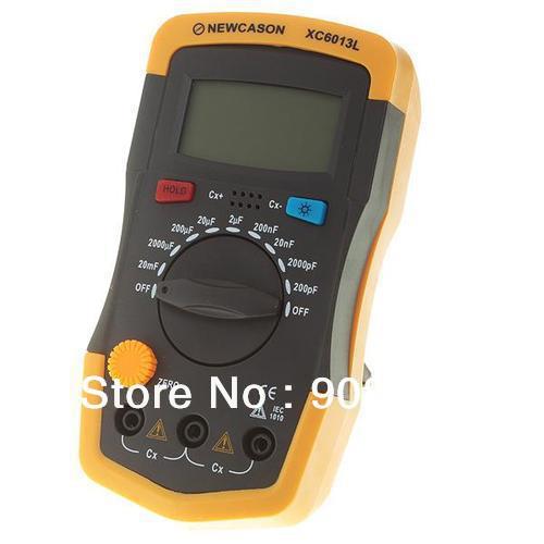Capacitor Meter Capacitance Digital Test tester 200pF~20mF 6013 XC6013L New(China (Mainland))